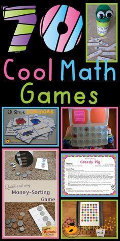 Diferentes juegos para diferentes niveles en matemática