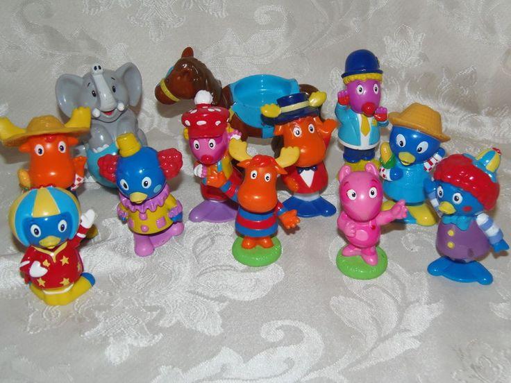 Backyardigans Big Top Circus Bobble Head Farm Figures Toys