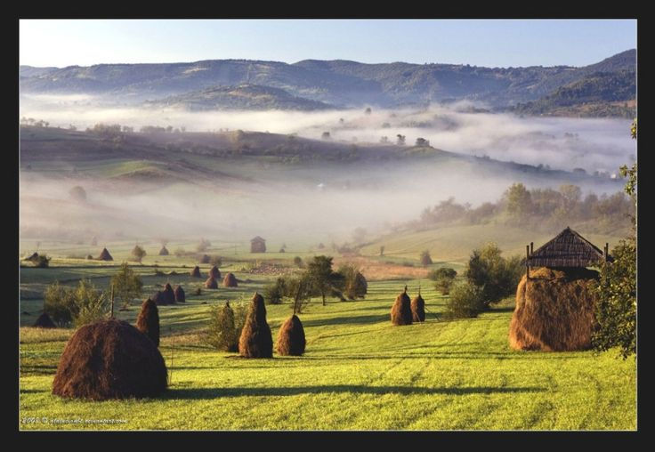Maramures landscape romanian european landscapes Carpathian mountains