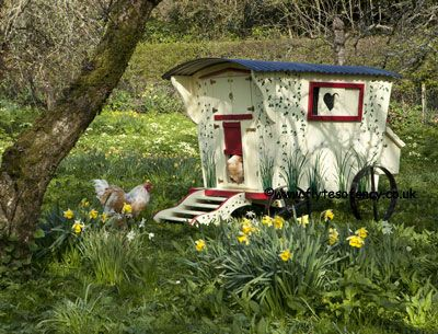 The ultimate chicken coop - from flytesofancy - bliss!