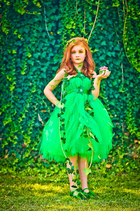 Halloween Costume Poison Ivy  Poison Ivy Costume  by atutudes