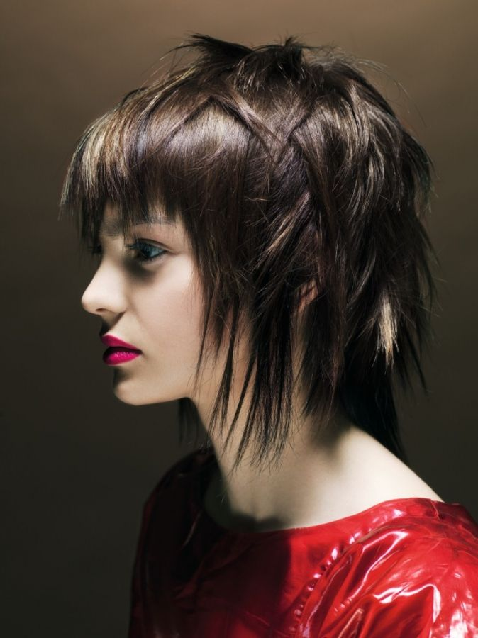 Funky Edgy Medium Length Hairstyle Ideas For Women