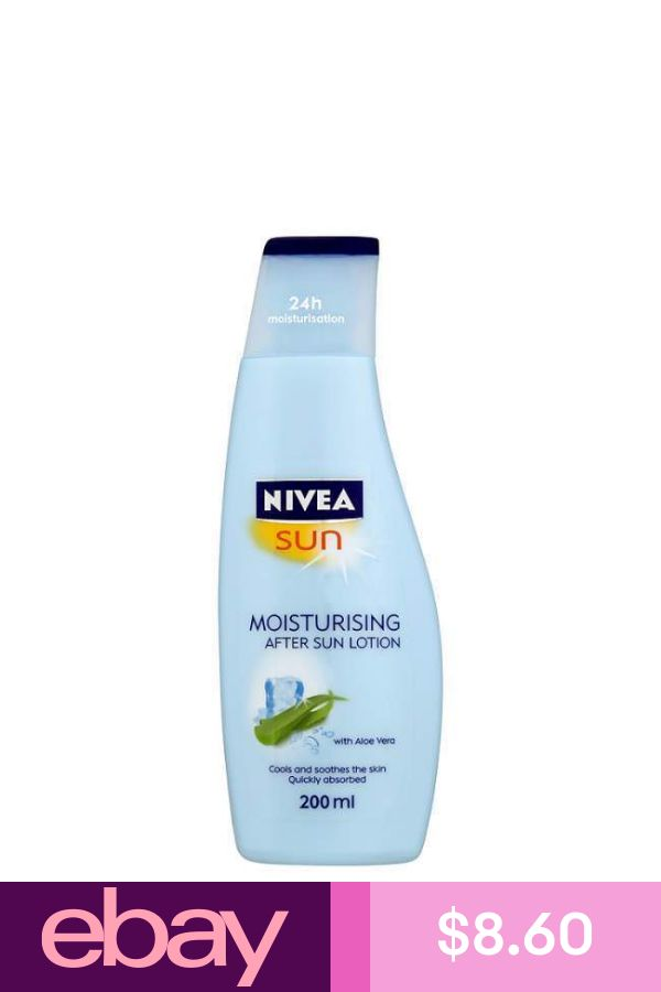 Nivea Sun Moisturising After Sun Lotion 200ml Soothing Prevent Skin From Ageing Sun Lotion Health Skin Care Nivea