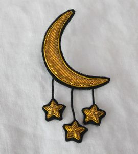Macon & Lesquoy Moon & Stars Pin, on Alder & Co.