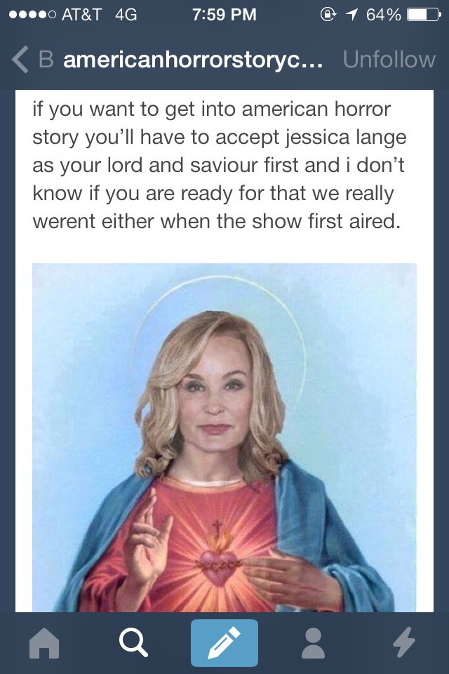 Jessica Lange. American Horror Story.