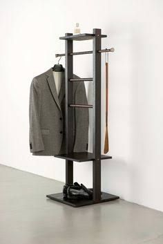 Image result for modern valet stand with chair