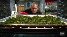 Veggie chips are healthier way to fulfill your craving for a salty, crunchy snack. Luckily, they're easy to make. Here's Alton Brown's method for turning any leafy green, like mustard greens, chard, collard greens, and of course, kale, into chips.