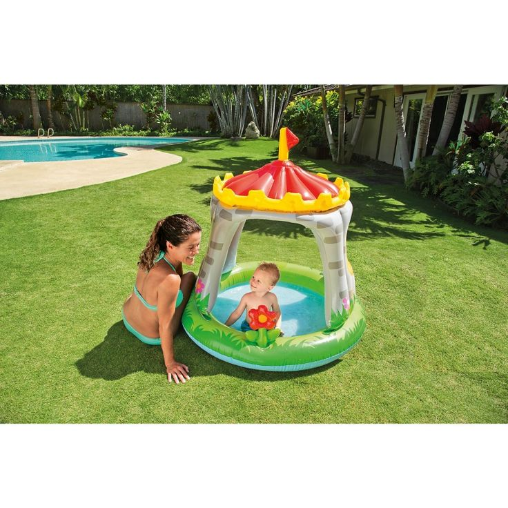 Günstig online entdecken: Baby Planschbecken Royal Castle von Intex bei Spielzeug.World!