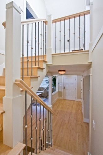 Basement Stair Landing Decorating: 22 Best Stairway/Cloak Nook Images On Pinterest