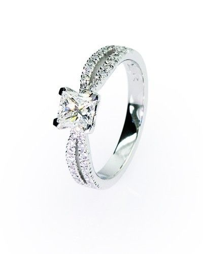 Beautiful Bow engagement ring!