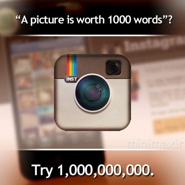 Facebook bought instagram for 1b$! Congratulations to Instagram's founders Mike Krieger and Kevin Systrom! :)