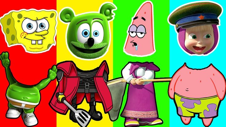 Learn Colors with Wrong Heads Masha and Gummy Bear Spongbob Characters Finger Family for Children Learn Colors with Wrong Heads Masha and Gummy Bear Spongbob Characters Finger Family for Children https://youtu.be/OJSFb-uTwxk Subscribe for more Colorful Video: https://www.youtube.com/channel/UCbSuTlWs4hQSmiQb7i3MmGA?sub_confirmation=1 Learn Colors with Animal an Toilet Poop BEARDED BABY CRYING Finger Family Nursery Rhymes…