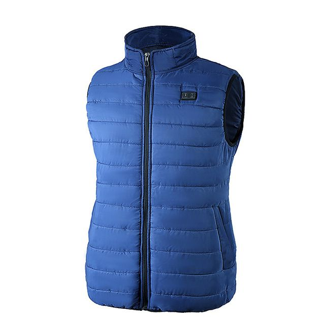 Unisex Electric Battery Heating USB Sleeveless Heated Vest Winter Outdoor Jacket