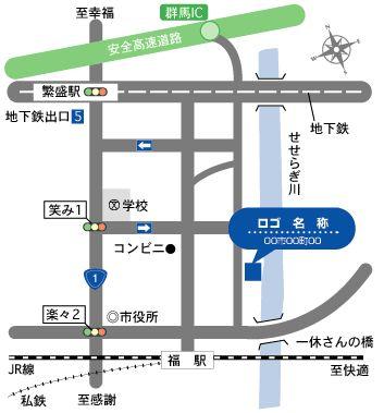 パンフレット 案内図 地図 デザイン - Google 検索