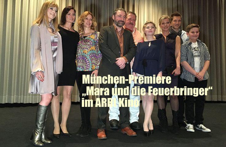 """München-Filmpremiere """"Mara und der Feuerbringer"""" im ARRI Kino am 30.03.2015"""