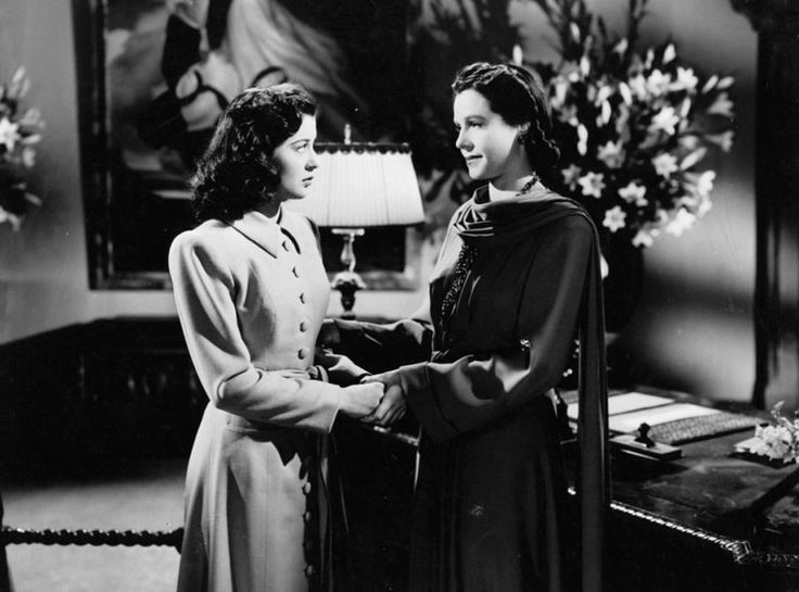 "Gail Russell and Ruth Hussey in ""The Uninvited"""