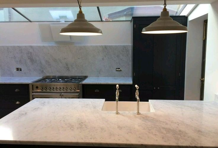 White kitchen Worktops Granite,Quartz,Marble Kitchen Worktop and Fireplaces Custom Made Marble Worktops.Beautiful kitchen worktops using the finest Granite, Marble, Slate or Quartz. These extremely hard wearing polished stone worktops bring stunning shine and exceptional finish to any kitchen. | eBay!