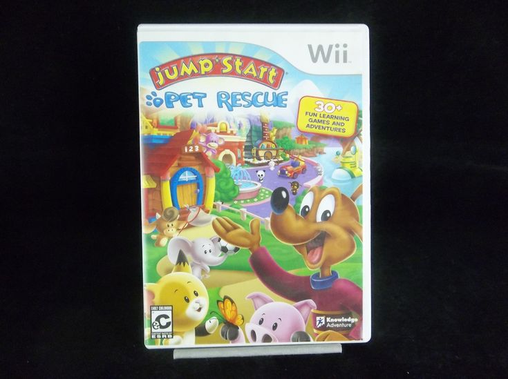 Jump Start Pet Rescue 2009 Nintendo Wii Video Game