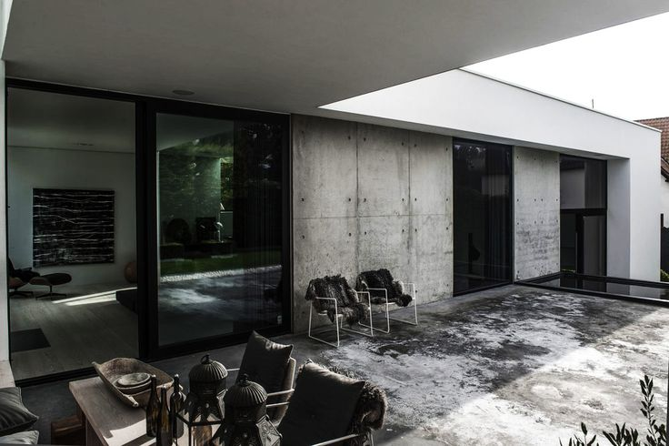 Casa Minimalista Em Risskov   Dinamarca