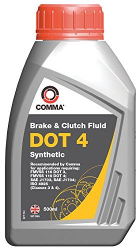 From 5.97:Comma Bf4500m 500ml Dot 4 Synthetic Brake Fluid