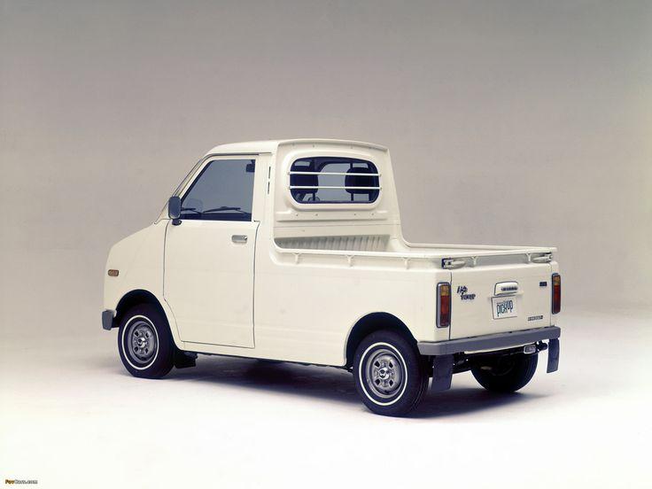 "thatyellowvolvoguy: ""carsinstudio: ""Honda Life Pick Up (1973) "" Hell yes """