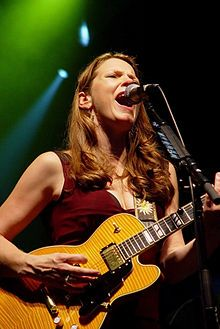 Susan Tedeschi - blues singer and guitarist, married to Derek Trucks