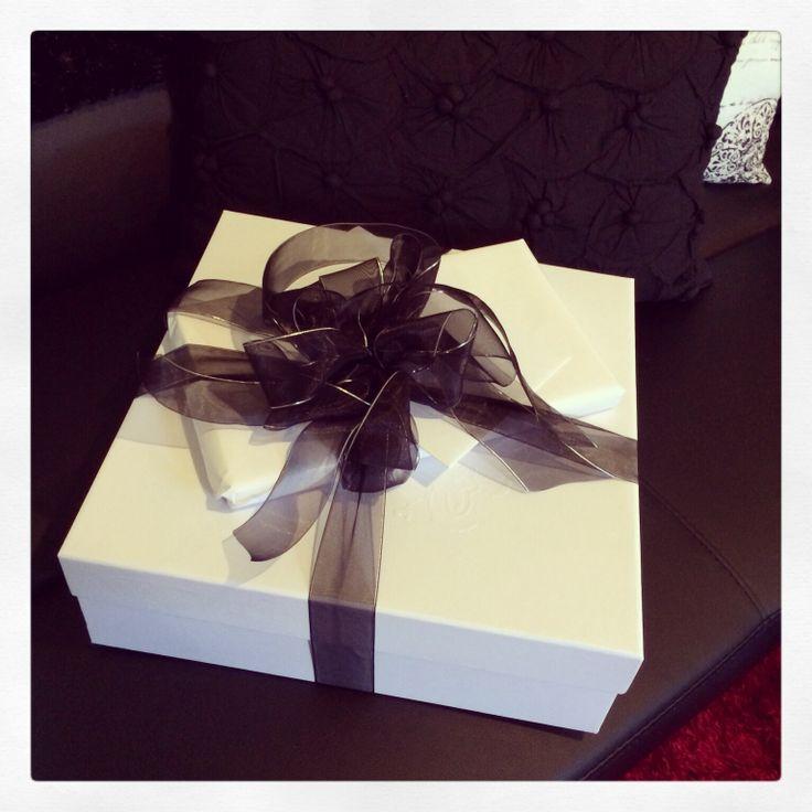 Beautiful Boxed Christmas Present from my Beautiful Boss