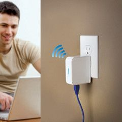 The Portable WiFi Signal Booster.