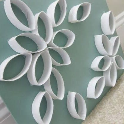 Make Out Of Toilet Paper Rolls Make Small Flowers For