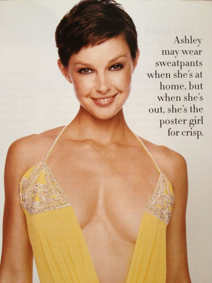Ashley Judd pixie