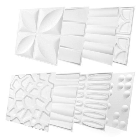 Wall Flats 8 Pack Sample