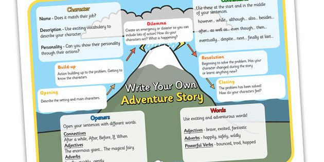 how to make a good adventure story