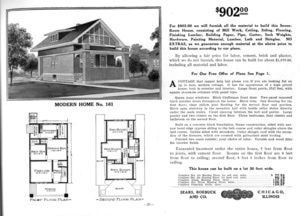 Plans For Bungalow Style Houses Were Free When You Mail Ordered Materials From The Sears