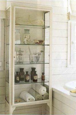 Great storage for bathroom