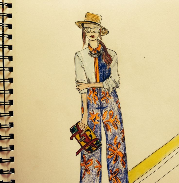 Sketching random from #MFW #ss15