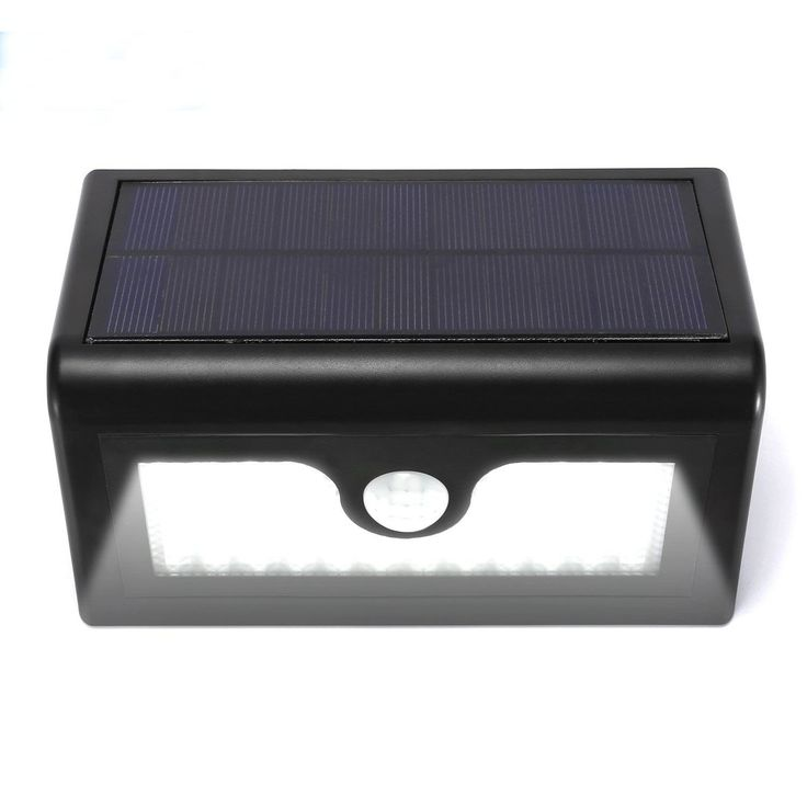 50 LED Solar Motion Light by Kshioe, Outdoor Security Lighting Nightlight Step Lights, Wireless Waterproof Wall Lights with 3 Intelligent modes PIR Motion Sensor Induction