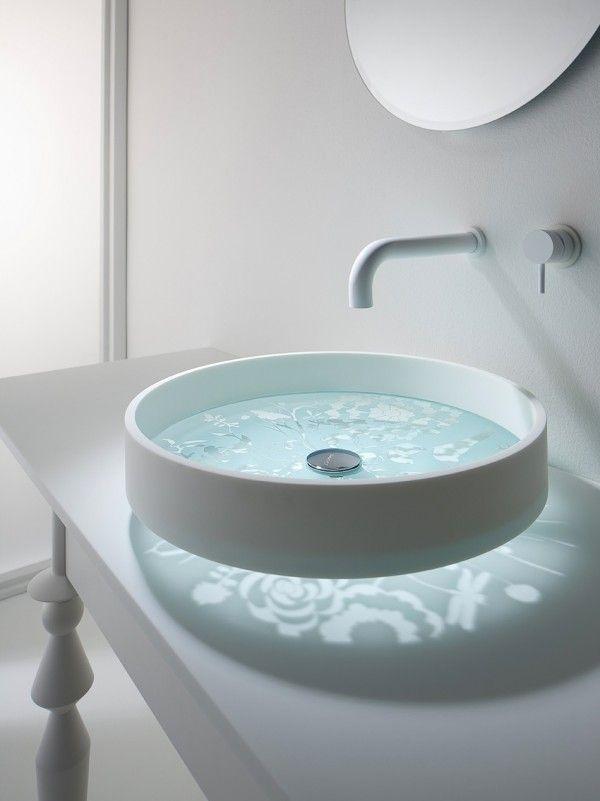 30 Modèles Du0027éviers Design Et Insolites à Découvrir. Etched GlassBathroom  SinksBathroom ...