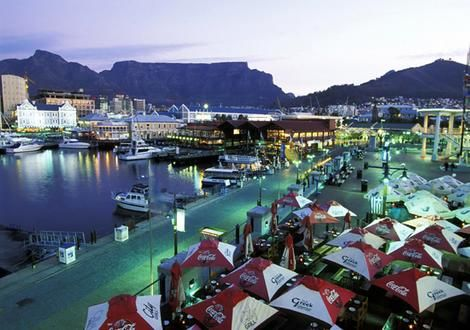 The world famous Cape Town Waterfront.