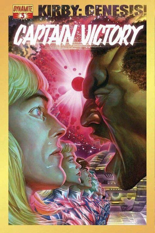 Kirby: Genesis! | Captain Victory #3 •Alex Ross
