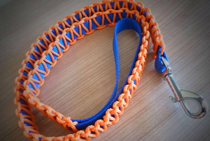 Modro-oranžové vodítko