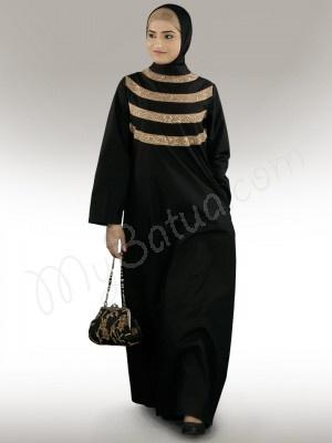 #abaya #fashion  Seemeen Black Cotton Abaya    Product ID: AY-238    Regular Price: $96.90    Offer Price: $58.20