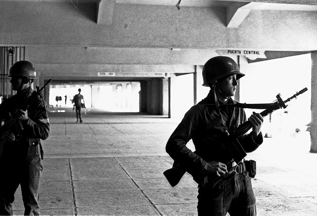 Guards, National Stadium, Santiago, Chile, 1973 | Flickr - Photo Sharing!