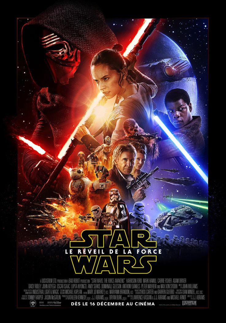 Affiches officielles des personnages de Star Wars VII ! Le réveil de la Force #starwars #lereveildelaforce