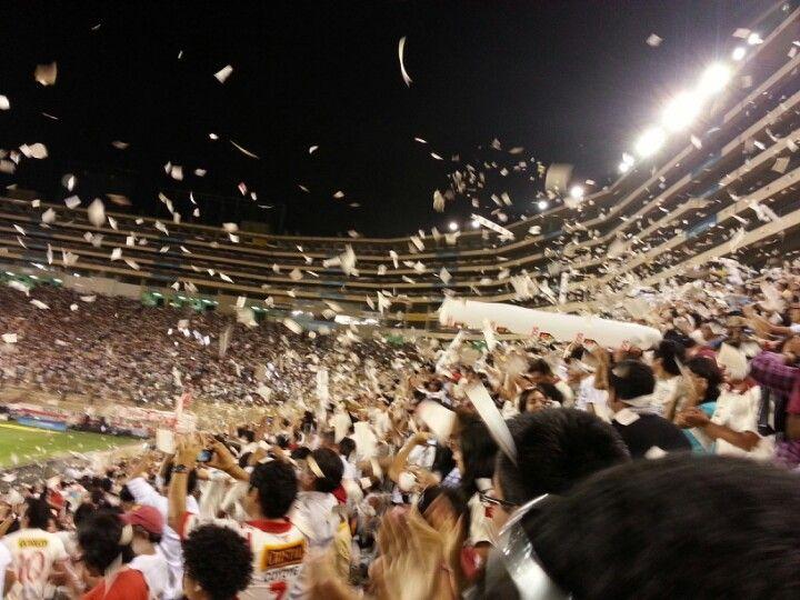 Estadio Monumental in Vitarte