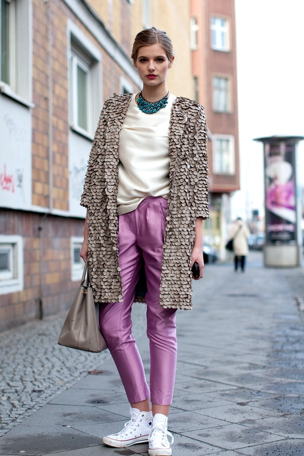 First street style impressions with Louis in Berlin wearing pieces from our SS13