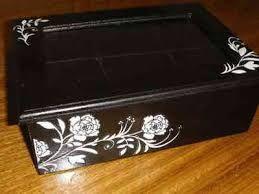 Resultado de imagen para artesanias cajas pintadas a mano