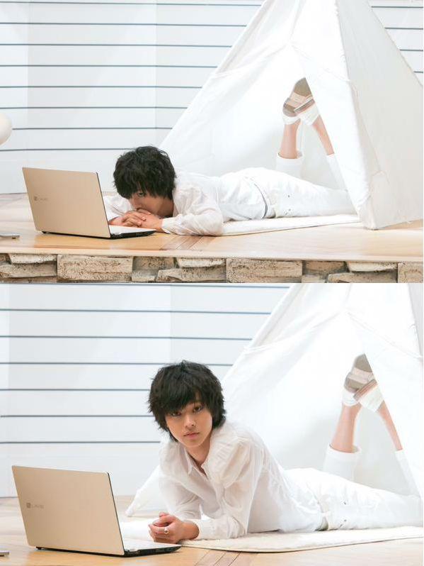 "[Preview, Ep.8] http://www.youtube.com/watch?v=w1dbgZR2MSs    Kento Yamazaki, Masataka Kubota, Hinako Sano.  J drama series ""Death Note"",  [Ep. w/Eng. sub] http://www.dramatv.tv/search.html?keyword=Death+Note+%28Japanese+Drama%29"