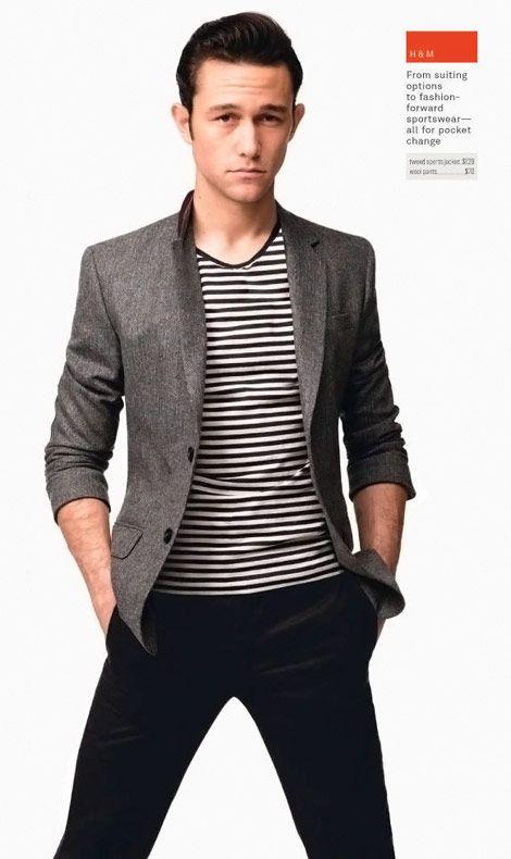 Joseph Gordon-Levitt... so lovely. I feel like I should also include this in the well-dressed men board.