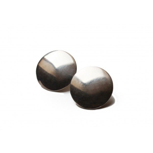 Hans Hansen Ear Clips Round Silver available on allmodern.de * signed HaH