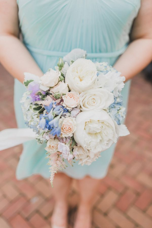 0dc4bc34dbc5 pastel bridesmaid bouquet with mint green dress